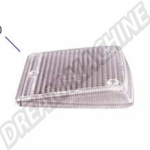 Cabochon de clignotant transparent droit Combi 73-->79 211953142CC Sur www.dream-machine.fr