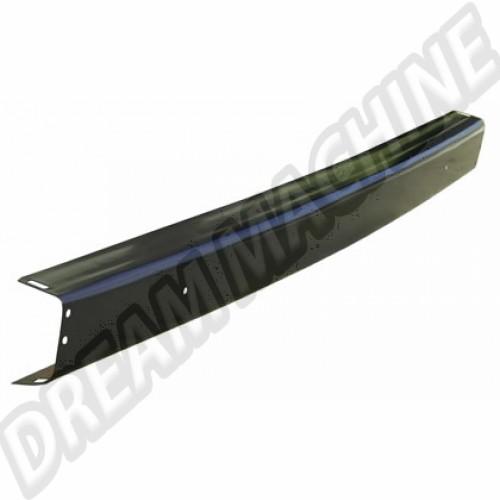 Pare choc arrière en apprêt noir. épaisseur de tôle 1.7mm 5/1979-7/1992 251807311D Sur www.dream-machine.fr