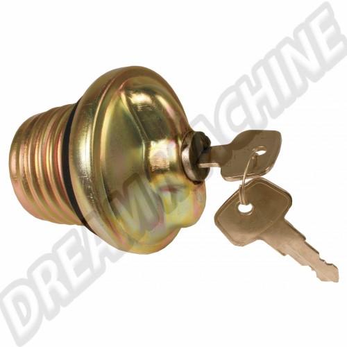 Bouchon de réservoir essence à clés 72--> 321201551H Sur www.dream-machine.fr