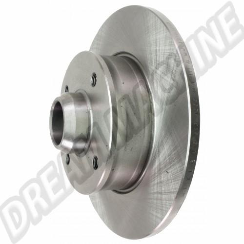 Disque de frein arrière (4x100) plein 226x10mm pour Golf 2 et 3 357615601 Sur www.dream-machine.fr