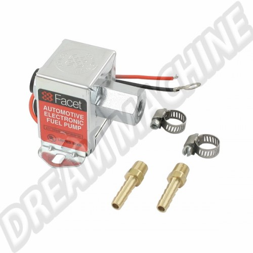 Pompe a essence electrique Facet avec raccords  41-2010-0 Sur www.dream-machine.fr