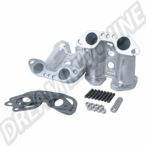 Pipes d'admission pour carburateurs IDF / DRLA sur moteur Type 4  DM42763 Sur www.dream-machine.fr