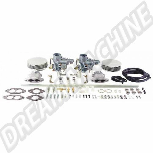 Kit carbu empi 34 epc double admission pour T3 47-7311-0 Sur www.dream-machine.fr