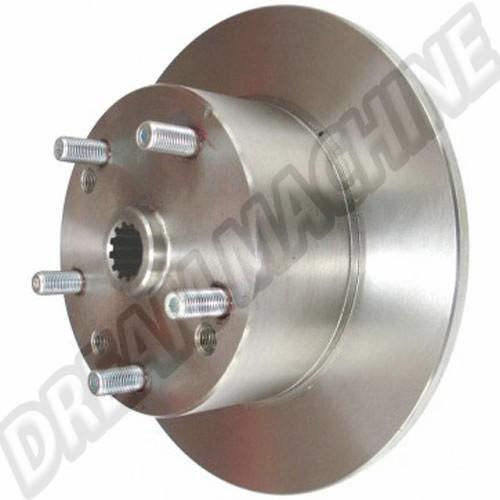 disque arriere perçage Porsche 5x130 (disque de remplacement Kit disques arrière Empi ) 71392 Sur www.dream-machine.fr