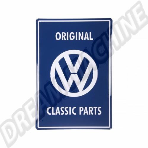 Plaque métal Original Classic Parts 80903402 Sur www.dream-machine.fr