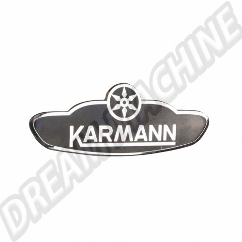Ecusson Karmann pour cabriolet 61-->>79 151853901 Sur www.dream-machine.fr