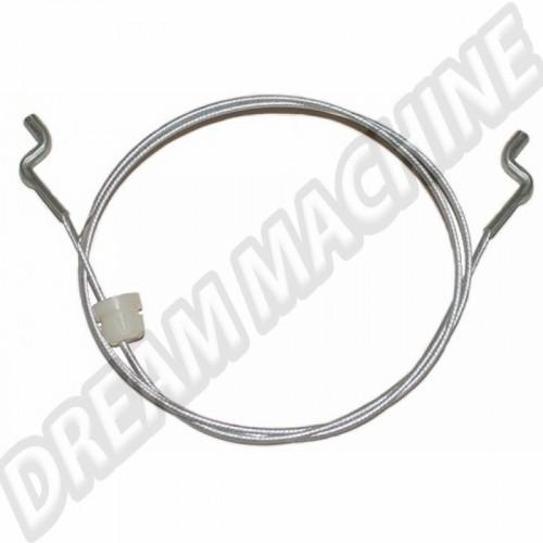 Câble extérieur de siège avant 342mm Coccinelle 76->79 et Golf 1 77->79 171881595A Sur www.dream-machine.fr