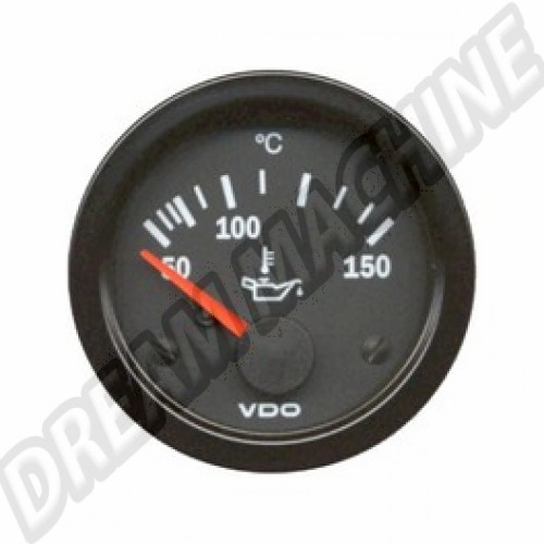 cadran de temperature d'huile 50-150 diam 52mm VDO V310012A Sur www.dream-machine.fr