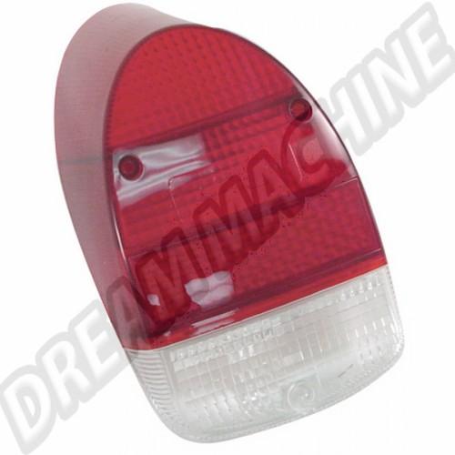 Cabochon de feu  arrière rouge 1300 8/67-7/73 et 1302 (sans marquage CE) 111945241LR Sur www.dream-machine.fr