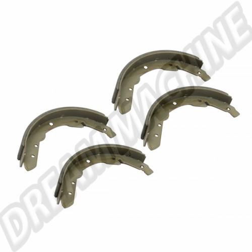 mâchoires de freins arrière pour VW Combi Split 03/55 -> 07/63 211698537B Sur www.dream-machine.fr