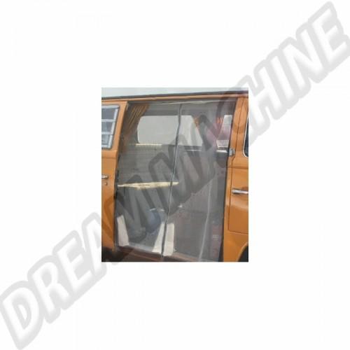 Moustiquaire de porte latérale avec zip pour Combi Westfalia 8/63-79 DM9902 Sur www.dream-machine.fr