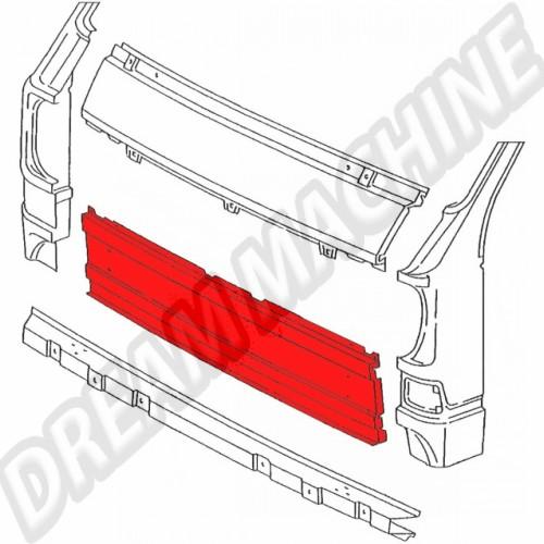 Bas panneau central avant pour T25 aircooled 251805037AC Sur www.dream-machine.fr