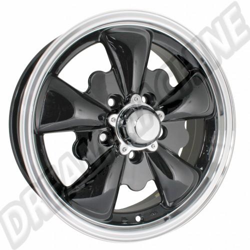 Jante Empi GT-5 blanche 5.5x15 5 trous 5x112 GT5112W Sur www.dream-machine.fr