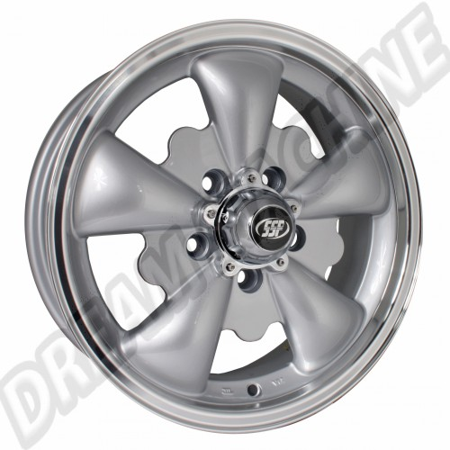 Jante Empi GT-5 grise 5.5x15 5 trous 5x112 00-9695-0 Sur www.dream-machine.fr