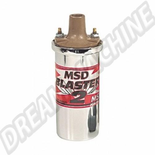 Bobine MSD Blaster 2 45.000 volts chromée AC9058200 Sur www.dream-machine.fr