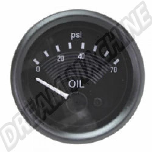 Cadran de pression d'huile Smiths 12V T1 68--> AC957050 Sur www.dream-machine.fr