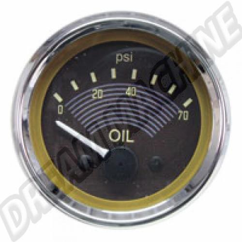 Cadran de pression d'huile Smiths 12V AC957051 Sur www.dream-machine.fr