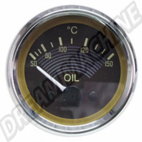 Cadran de température d'huile Smiths 12V AC957056 Sur www.dream-machine.fr