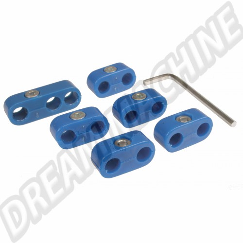 Séparateurs de fils de bougies bleus AC998205 Sur www.dream-machine.fr