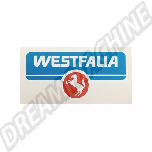 Autocollant Westfalia Type 2 68-79 et Transporter 79-92 BS29121 Sur www.dream-machine.fr