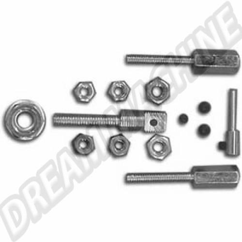Kit raccourcisseurs de câbles frein/acc./emb 00-3167-0 Sur www.dream-machine.fr
