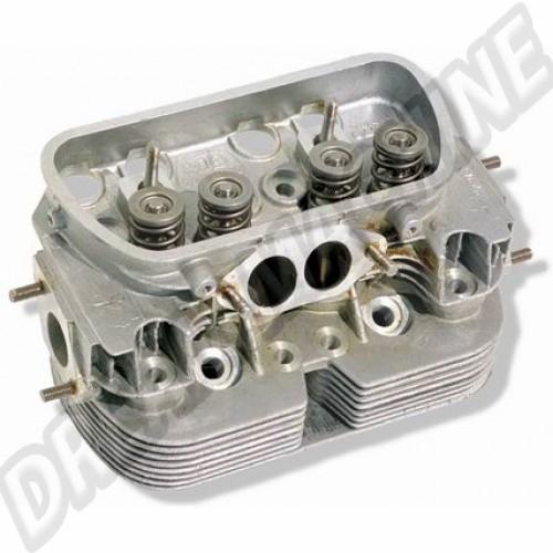 Culasse 1600cc D/A - 35.5 x 32 - soupapes inox complète court culot idéal 1600/1641cc 043101355E Sur www.dream-machine.fr