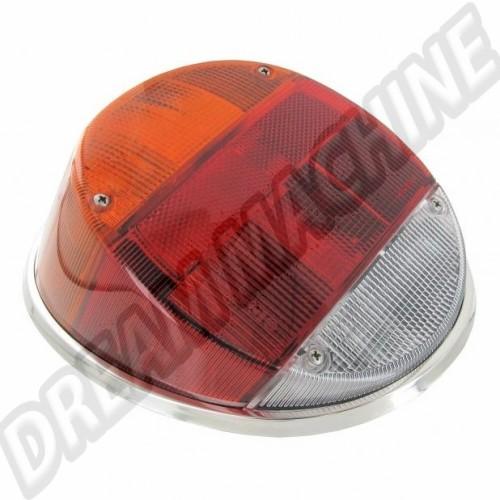 Cercles de feu arrière en inox poli. la paire  DM27104713 Sur www.dream-machine.fr