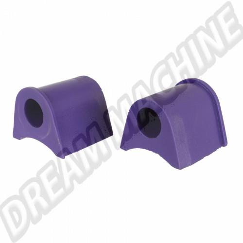 Silentblocs sport en Polyuréthane extérieurs de barre stabilisatrice arrière pour Golf 1 DM50185226 Sur www.dream-machine.fr