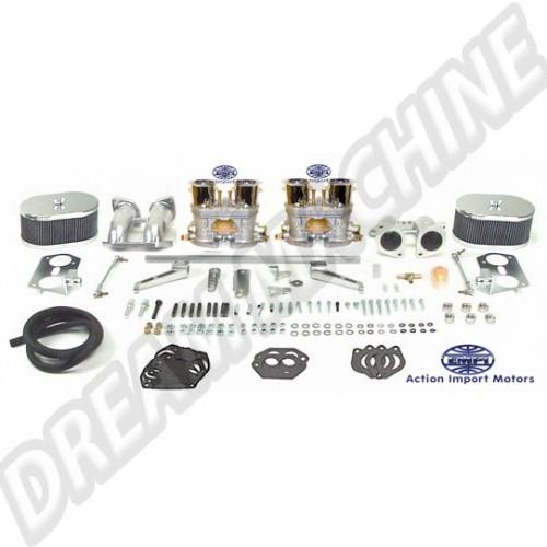 Kit complet de 2 carburateurs T4 double corps 40mm Empi HPMX 47-7347-0 Sur www.dream-machine.fr