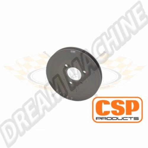 Poulie alu moteur type 4 pour montage sur turbine Porsche  105253140 Sur www.dream-machine.fr