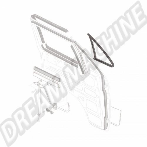 Joint de déflecteur fixe gauche ou droit Transporter 80-92 251837625 Sur www.dream-machine.fr