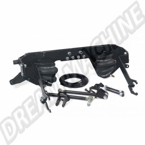 Kit de suspension pneumatique pour essieu oscillant a cardan arrière (boulonné)