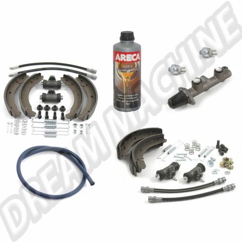 Kit frein avant 65--> et arrière 67--> 1200/1300 DM200313 Sur www.dream-machine.fr