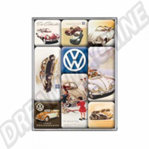 Set de 9 magnets  80902291 Sur www.dream-machine.fr