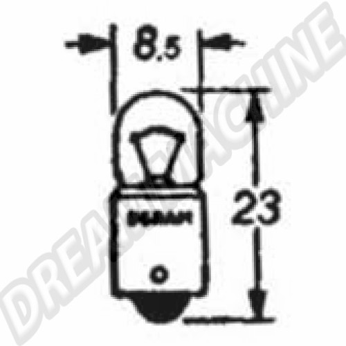 Ampoule de veilleuse 12V N177172 Sur www.dream-machine.fr