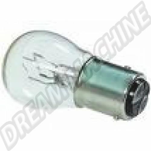 Ampoule de feu arrière et feu stop 12V. double filament N0177382 Sur www.dream-machine.fr