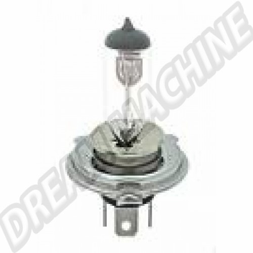 Ampoule de phare avant H4 12v 60/55W p43t Sur www.dream-machine.fr