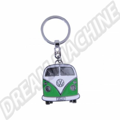 Porte clés Combi vert avec sa boite en métal PC9066 Sur www.dream-machine.fr