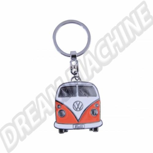 Porte clés Combi orange avec sa boite en métal PC9067 Sur www.dream-machine.fr