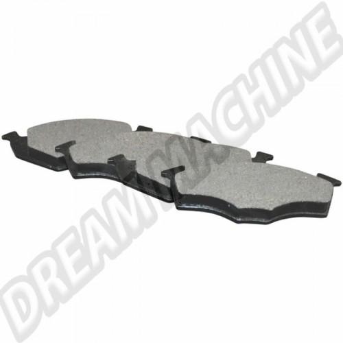 Jeu de plaquettes de frein 19.70mm avant pour disques 239x12mm 1H0698151A Sur www.dream-machine.fr