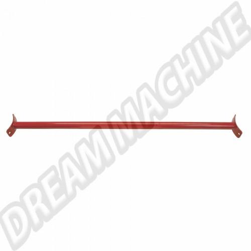Barre anti-rapprochement supérieur arrière en acier Rouge  pour Golf 1  (Pas pour Cabriolet et Caddy)  W515001 Sur www.dream-machine.fr
