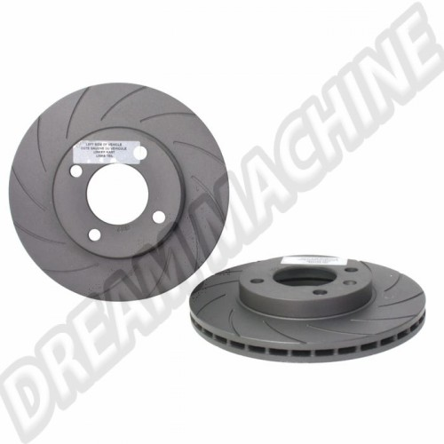 Set de 2 disques de frein avant plein 239x10mm 811615301 Sur www.dream-machine.fr