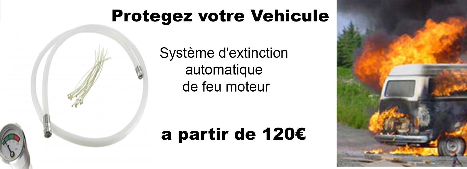 System automatique anti feu